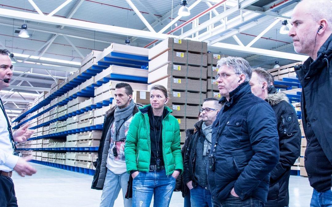 De Keuken Groep kiest voor Axitour AT-500 communicatiesysteem voor fabrieksrondleidingen