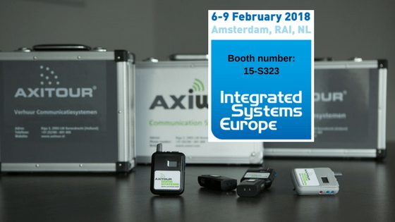 Axitour aanwezig op integrated Systems Europe 2018