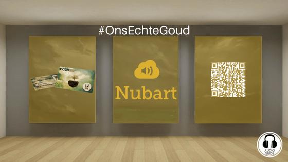 Met innovatieve audiogids Nubart hebben musea én bezoekers het 'echte' goud in handen #onsechtegoud