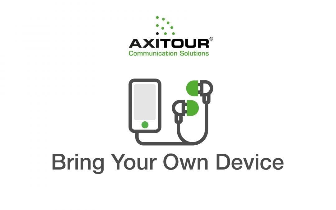 De 'Bring Your Own Device' oplossingen van Axitour zorgen voor meer beleving tijdens rondleiding
