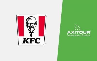 KFC gebruikt Axitour rondleidingsysteem om collega's inzicht en kennis te geven in supply chain