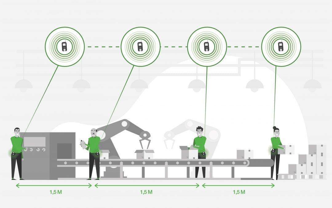 axiwi-discreet-hygienisch-op-afstand-communiceren-productie-fabriek