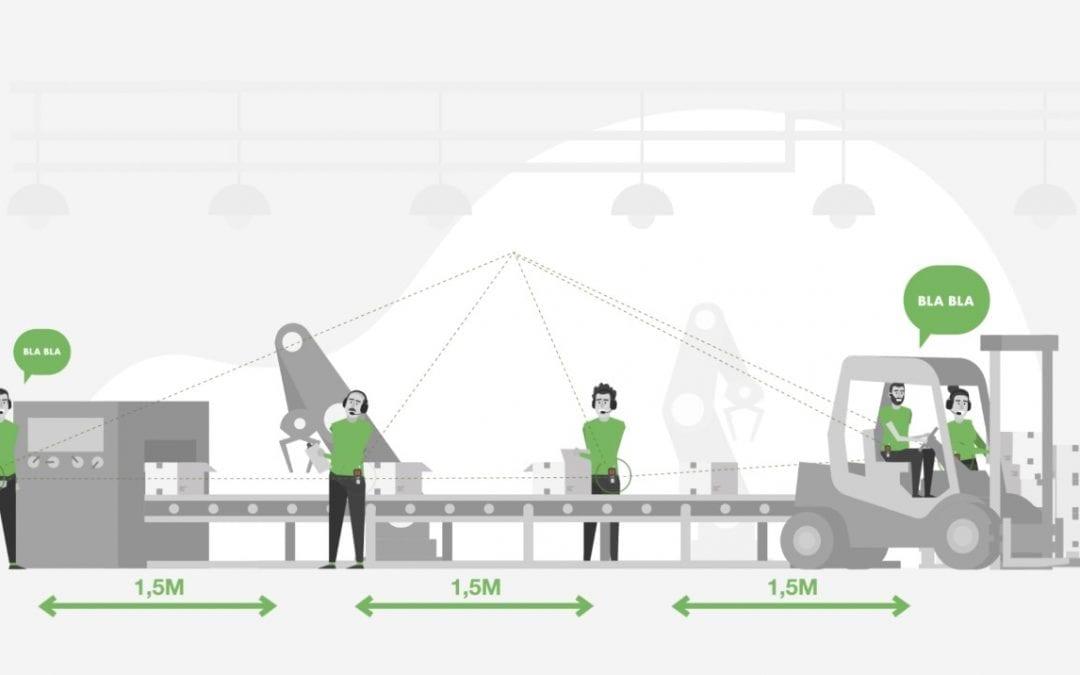 Axitour helpt productiebedrijven met AXIWI draadloos én Coronaproof te communiceren
