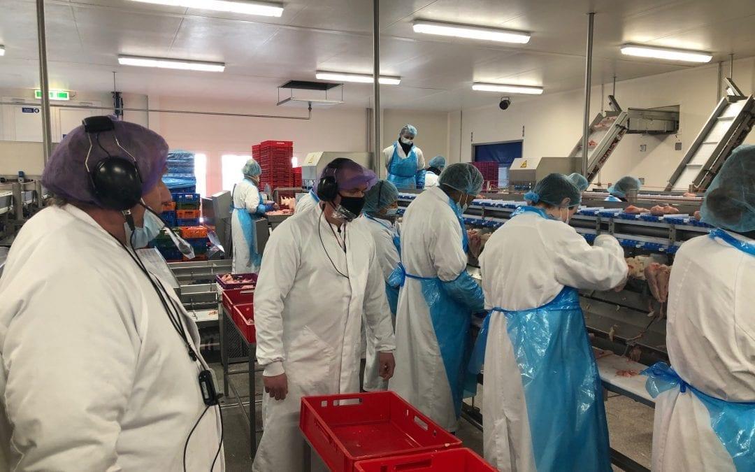 Heijs Food Products zet AXIWI in voor interactieve rondleidingen en audits in fabriek